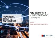 Global Indirect Tax Conference 2020